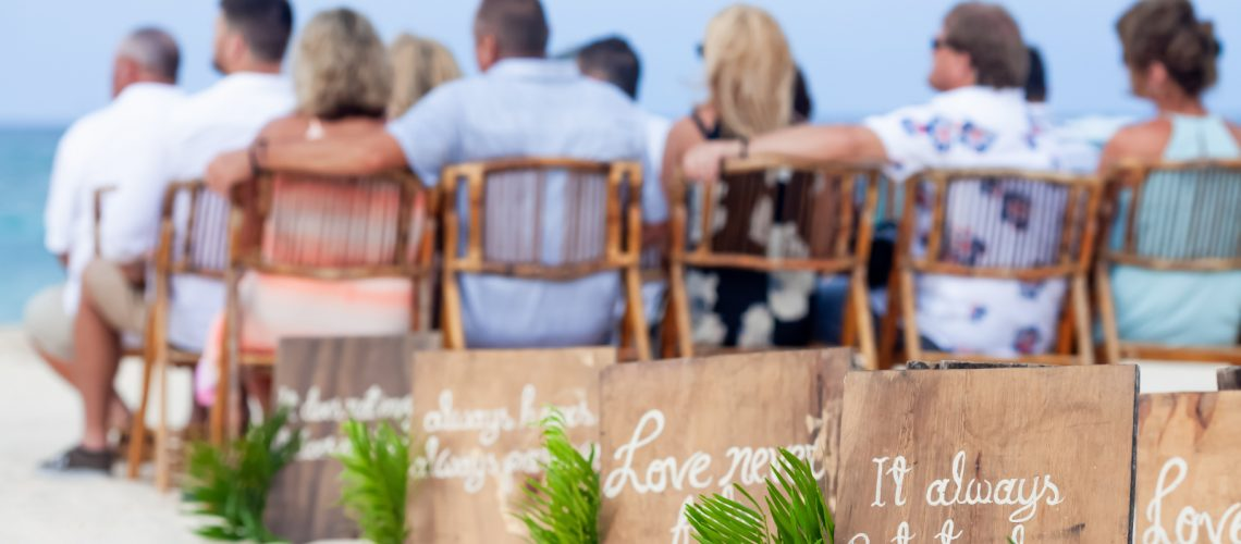 Make Your Beach Wedding Guests Comfortable