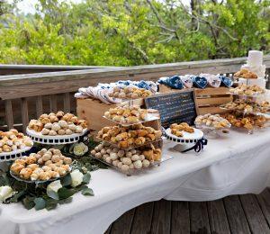 Lovers Key Wedding Food